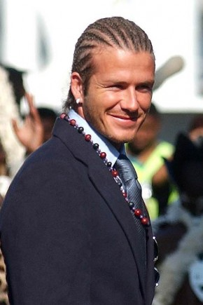 David Beckham Cornrows Hairstyles 2015