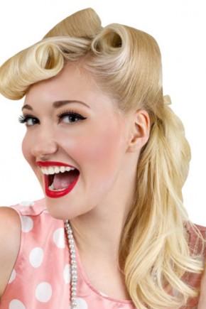 Blonde Vintage Hairstyles 2015