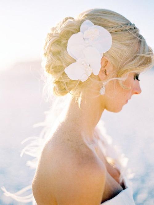 Wedding Bun Hairstyles 2015