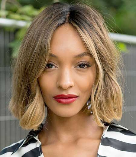 Jourdan Dunn bob hairstyles for black women 2015