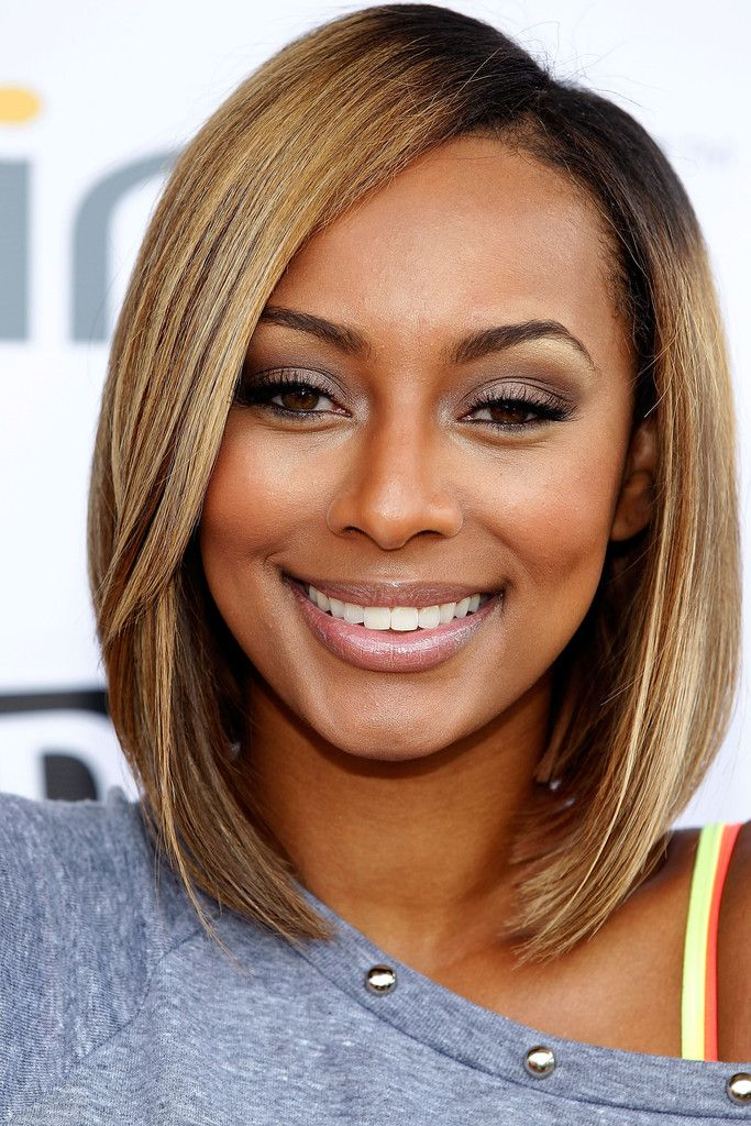 Side swept bob hairstyles for black women 2015