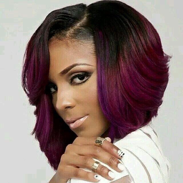 Excellent Stylish Bob Hairstyles For Black Women 2015 Hairstyles 2016 Hairstyles For Men Maxibearus