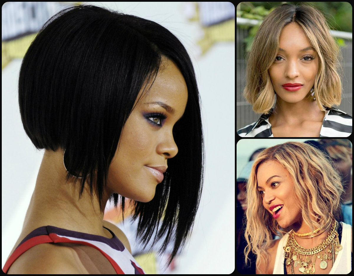 Stylish Bob Hairstyles For Black Women 2015