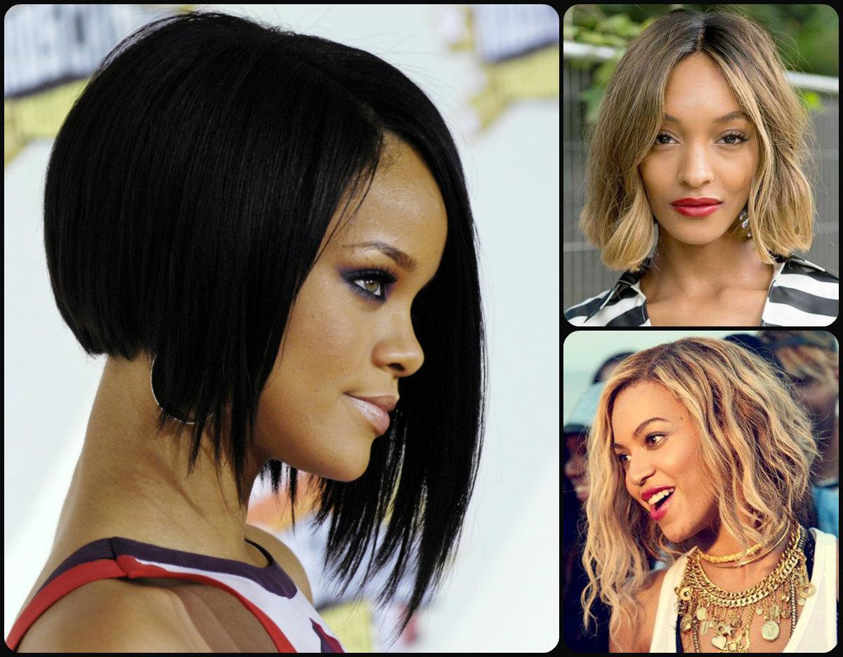 Strange Stylish Bob Hairstyles For Black Women 2015 Hairstyles 2016 Hairstyles For Women Draintrainus