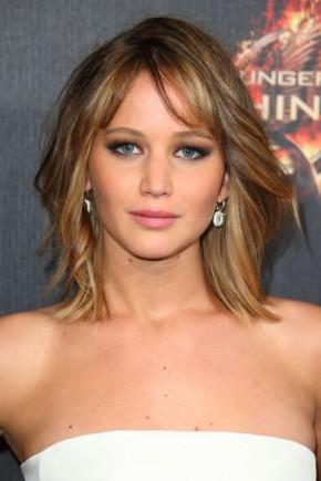 Jennifer Lawrence celebrity bob hairstyles 2015