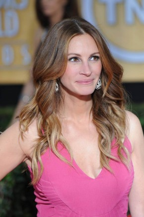 Julia Roberts celebrity brown hair colors 2015