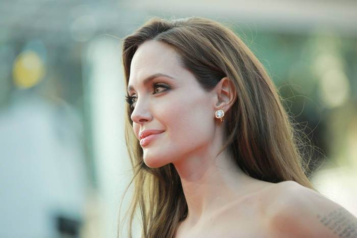Angelina Jolie celebrity brown hair colors 2015