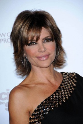 Lisa Rinna celebrity brown hair colors 2015
