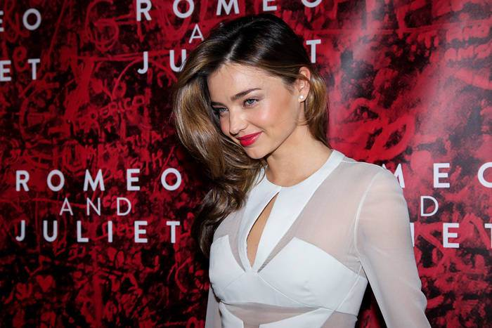 Miranda Kerr brown hair colors 2015