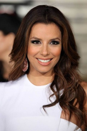 Eva Longoria celebrity brown hair colors 2015