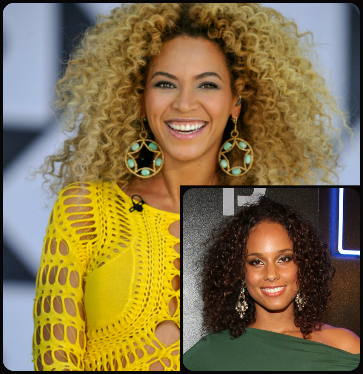 celebrity curly hairstyles 2015