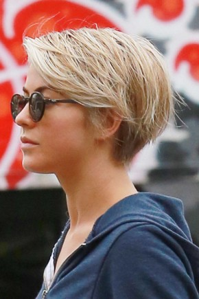 Julianne Hough pixie haircuts 2015