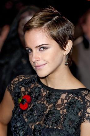 Emma Watson pixie haircuts 2015