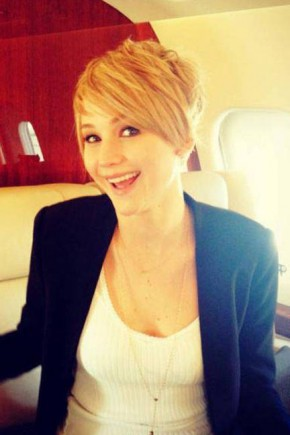 Jennifer Lawrence pixie haircuts 2015