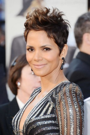 Halle Berry pixie haircuts 2015