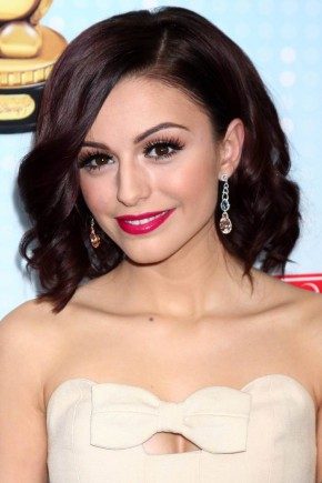 Cher Lloyd red hairstyles 2015