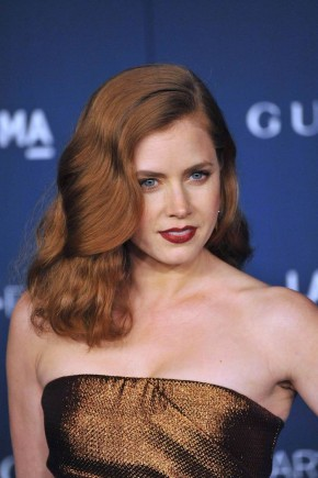 Amy Adams red hairstyles 2015