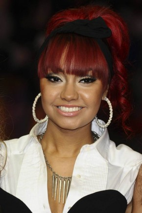 Leigh-Anne Pinnock red hairstyles 2015