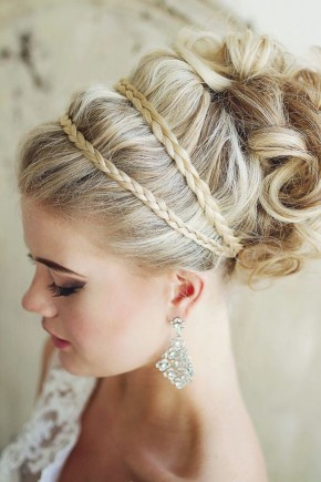 Greek style wedding hairstyles 2015
