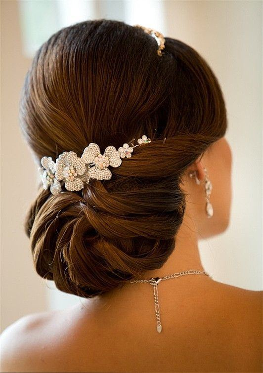 Elegant Updo Wedding Hairstyles Spring 2015