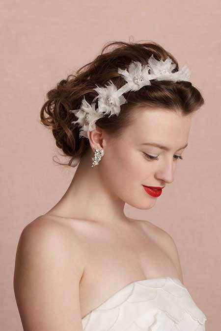 Aristocratic wedding hairstyles 2015