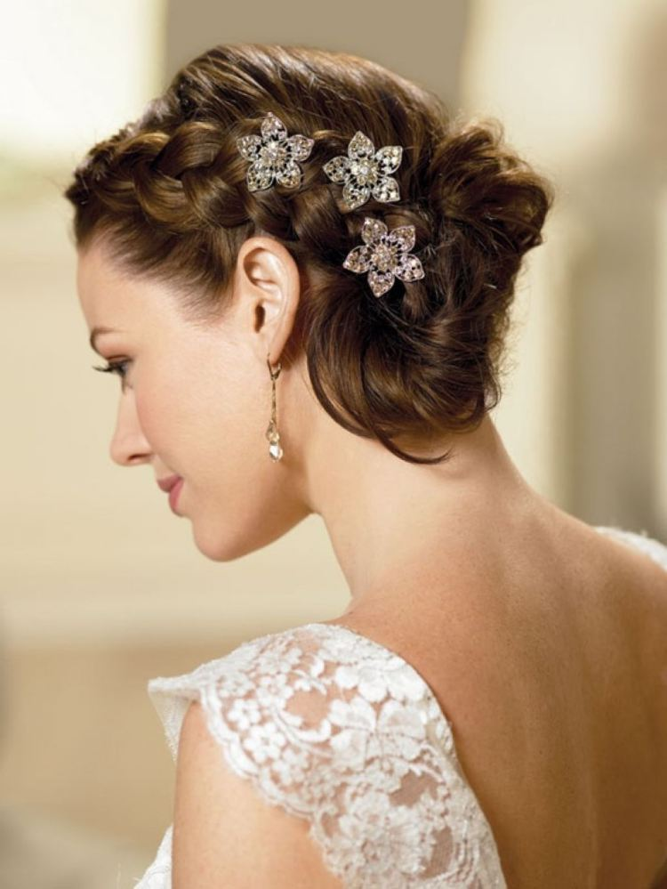 Medium wedding hairstyles 2015