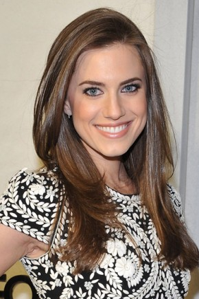 Allison Williams Long Hairstyles 2015
