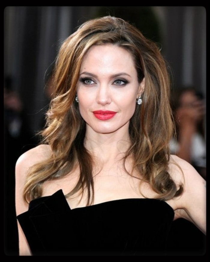 Angelina Jolie Long Hairstyles 2015