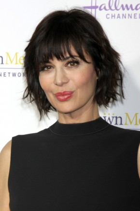 Catherine Bell Bangs hairstyles 2015