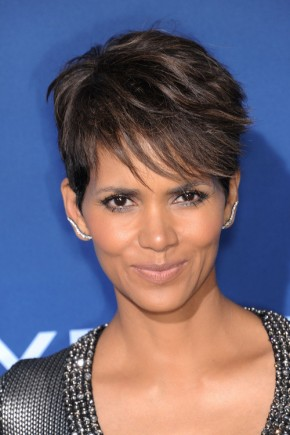 Halle Berry Bangs hairstyles 2015