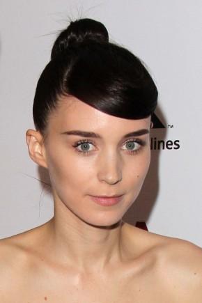 Rooney Mara Bangs hairstyles 2015