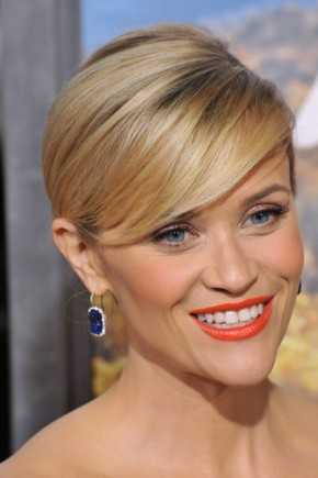 Reese Witherspoon Bangs hairstyles 2015