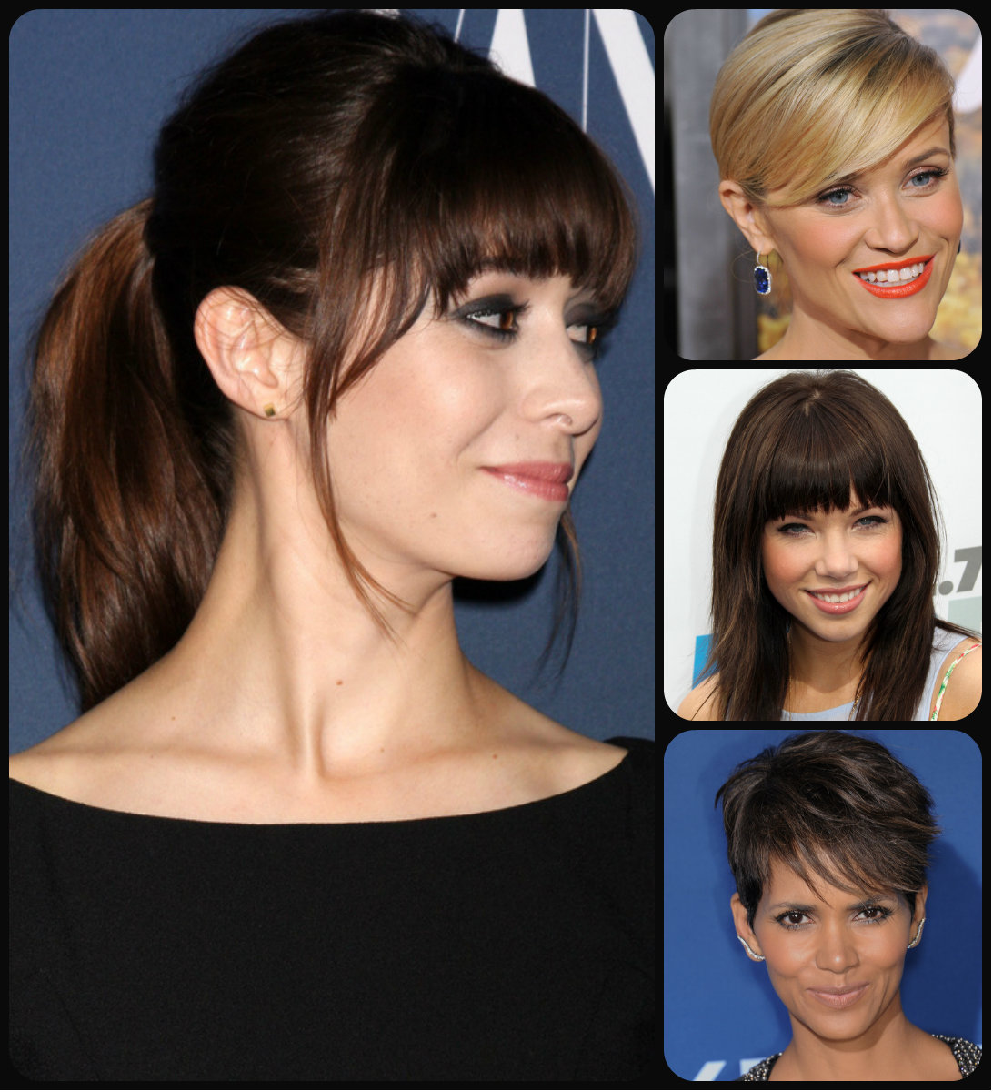 Incredible Hairstyles With Bangs Archives Hairstyles 2017 Hair Colors And Short Hairstyles Gunalazisus