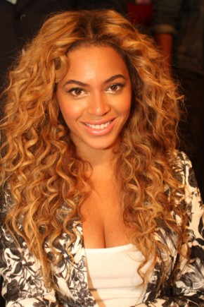 Beyonce Long Natural Curly Hairstyles 2015