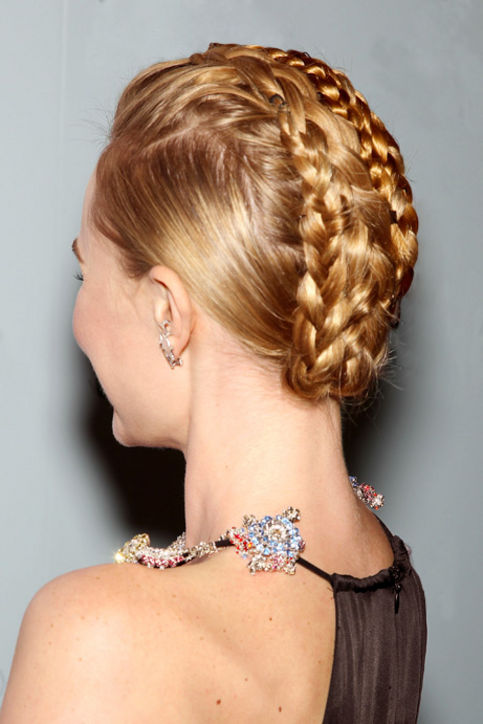Catwalk Braids Hairstyles 2015 Spring Summer