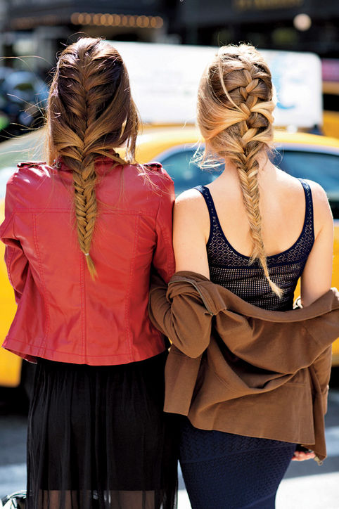Mixed Braids Hairstyles 2015
