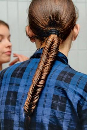 Tight Fishtal Braids Hairstyles 2015