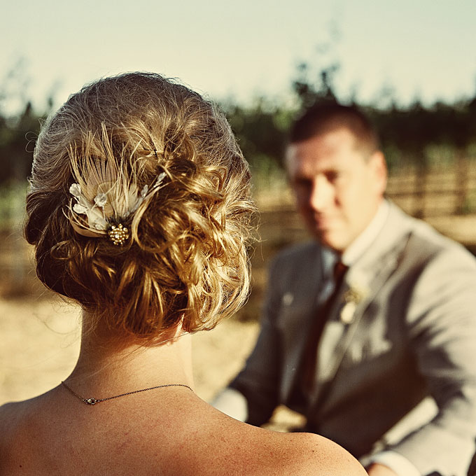 Messy side bun bridal hairstyles 2015
