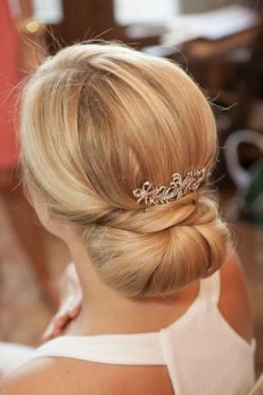 Wrap Bun Bridal Updo hairstyles 2015