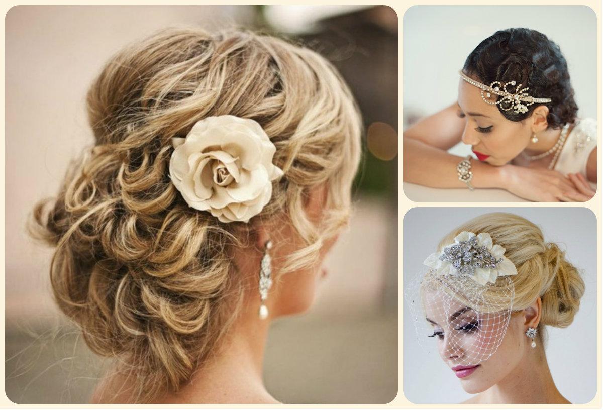 Pleasant Best Bridal Updo Hairstyles For Summer Weddings 2015 Hairstyles Short Hairstyles For Black Women Fulllsitofus