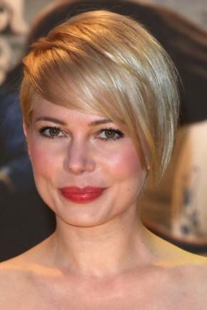 Michelle Williams Pixie Haircuts 2015