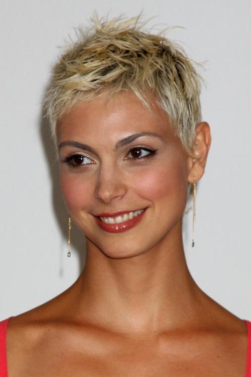 Morena Baccarin Pixie Haircuts 2015