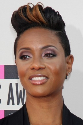 MC Lyte Short hairstyles 2015