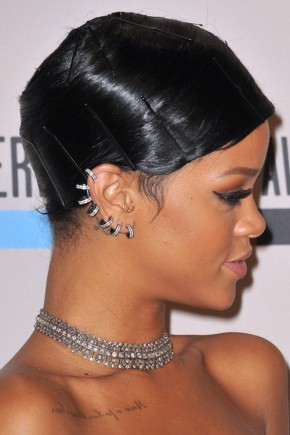 Rihanna Short hairstyles 2015