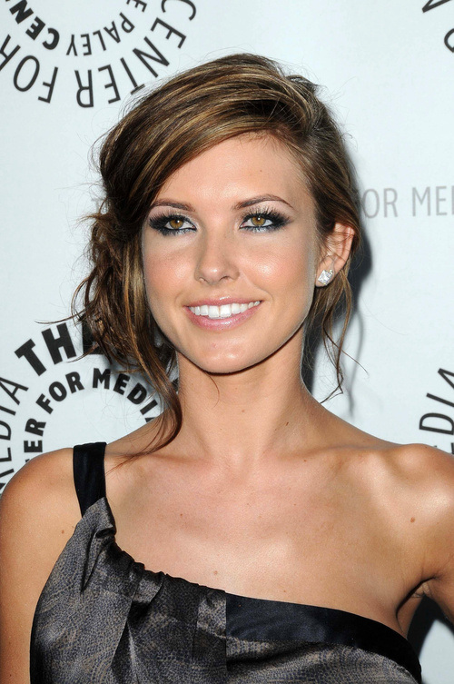 Buns Hairstyles 15 braided hair bun Ashley Greene Side Bun Hairstyles 2015 Audrina Patridge Side Bun Hairstyles 2015