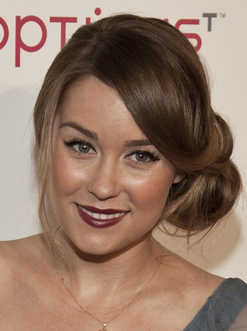 Side Bun Hairstyles the 25 best side bun hairstyles ideas on pinterest side bun updo bridal side bun and low updo Christina Applegate Side Bun Hairstyles 2015 Lauren Conrad Side Bun Hairstyles 2015