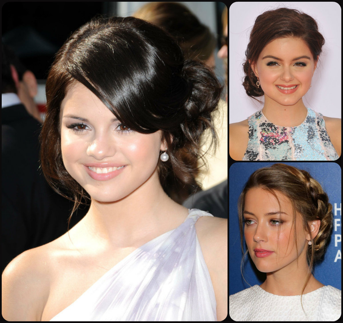 Side bun hairstyles 2015
