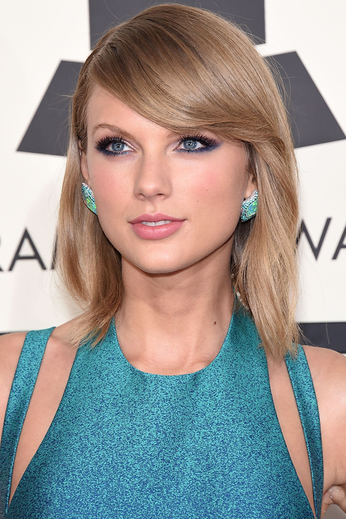 Taylor Swift bob hairstyles 2015