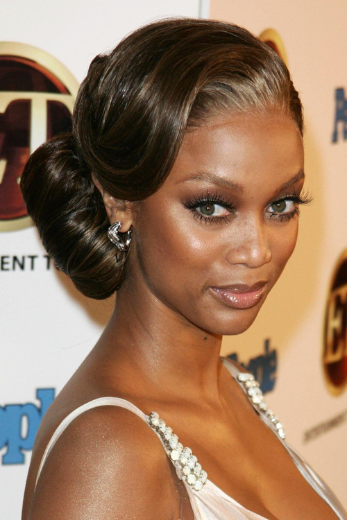 Sensational Delicate Celebrity Bun Hairstyles 2015 Summer Hairstyles 2016 Hairstyles For Women Draintrainus