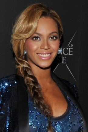 Beyonce fishtail braids 2015